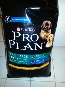 Sac croquettes proplan puppy large robust